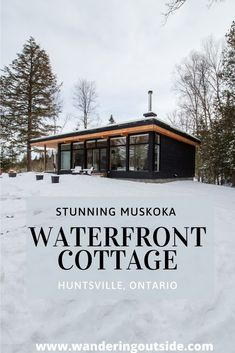 Private, waterfront property on the Muskoka River - Wolegib Cottage - Wandering Outside – Explore. Waterfront Cottage, Waterfront Property, Lake Cottage, Cottage House Plans, Small House Plans, Cottage Homes, Lake Cabins, Cabins And Cottages, Muskoka Cottages