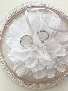 Unique Ring Pillow Ring Pillow Alternative Ring Holder Floral Ring Holder Wedding Ring Holder Boho Wedding Floral Ring Holder Flowers - Cell Phone Ring Stand - Ideas of Cell Phone Ring Stand - Unique Ring Pillow Ring Pillow Alternative Ring Holder Ring Bearer Pillows, Ring Pillows, Wedding Pillows, Ring Pillow Wedding, Ring Holder Wedding, Wedding Rings, Lace Dream Catchers, Lace Ring, Cushion Ring