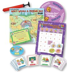 The Berenstain Bears Learn to Make Friends Deluxe Kit! Great for teachers to use for their students! $129.95
