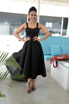 Rakul Preet Singh Images In Back Dress At Nannaku Prematho - Rakul Preet Singh