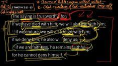 2 Timothy 2:11–13 // If We Are Faithless, He Remains Faithful?