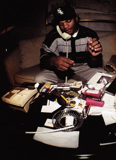 Man phones were dope back in the day! Eazy-E RIP