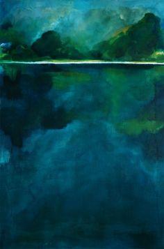 Gabriella Moussette - Art Abstrait/Huile sur toile  -   2013 -                             130/97 cm