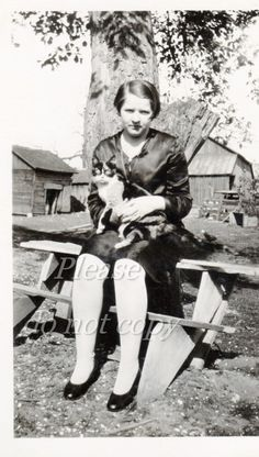Vintage+Photo+KITTY+cat+/+photopicker+snapshot+old+by+photopicker,+$4.85