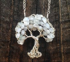 Gnarly Tree Necklace by ethorart