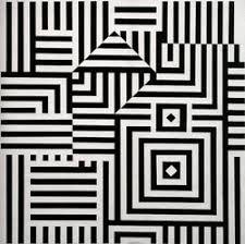 Bilderesultat for op art illusion