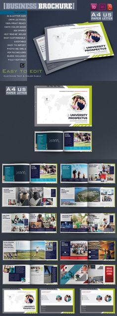 College \ University Brochure Template 14-All Templates - university brochure template