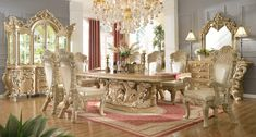 Dining Room Set HD7012 - Antique ReCreations