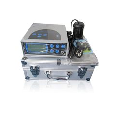 Foot Care Detox Machine Negative Ion Detox foot spa with Portable Aluminum box for Foot Detox Relaxtion Therapy ionic detox
