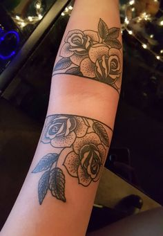 Rose tattoo by Cory at Big Daddys tattoo in Fort Worth Texas