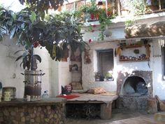 The Garden Wanderer: Turkish gardens Internal Courtyard, Chelsea Flower Show, Garden Projects, Garden Ideas, Back Gardens, Architectural Elements, Natural Living, Mosaic Tiles, Courtyards