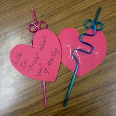 valentine ideas for school or home