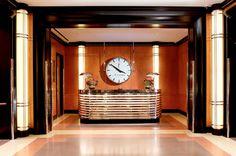 Decadent design: the world's most amazing Art Deco hotels Art Deco Hotel, Hotel Decor, Interiores Art Deco, Art Nouveau, Luxury Collection Hotels, Estilo Art Deco, Art Deco Movement, Art Deco Buildings, Modern Art Deco