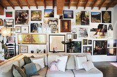 decor, frame wall, frames, home decorating, interior, interior design