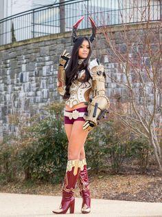 TERA Online Steampunk Clockwork Castanic Cosplay! by Autumn-Virus.deviantart.com on @DeviantArt