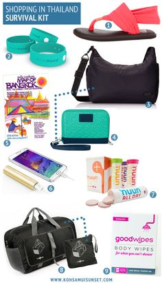 The best things to buy in Thailand: Shopping Survival Kit