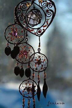 Jeweled Dream Catcher
