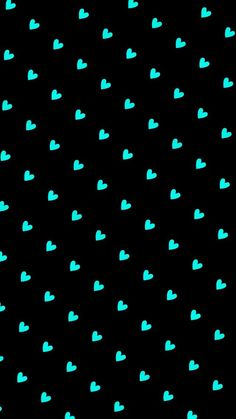 Image via We Heart It #background #hearts #mint #pattern #turquoise #wallpaper