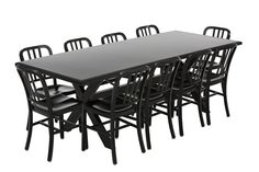 Aluminium Outdoor Family Dining Table