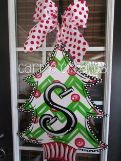 $45 look up CARRIE CREATES on Facebook, check out all the cute door hangers. Ships anywhere in US.