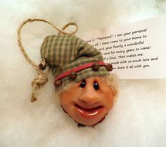 Handcrafted Christmas Ornaments Santa Elf Helpers https://www.etsy.com/shop/HangingTheOrnaments