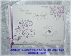 gästebuch hochzeit,hochzeitsgästebuch,gästebuch,glimmer,flieder,blüten