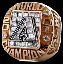 2001 Arizona Diamondbacks World Series Championship Ring World Series Rings, Jerseys Nfl, Mlb Teams, Best Basketball Shoes, Basketball Uniforms, Baseball Ring, Championship Rings, Arizona Diamondbacks