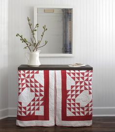 Skirt a Console Table