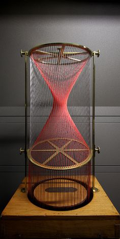 Geometric string model by Théodore Olivier  by GBoGBo, via Flickr