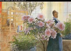 Carl Larsson Azalea  www.chinafineart.com
