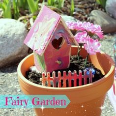 fairy garden kids craft