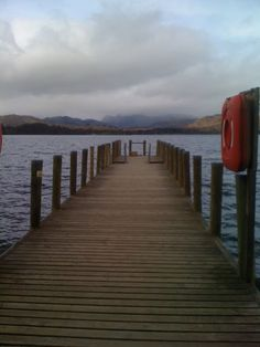 Pier at Brockhole on Windermere