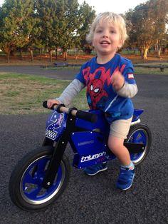 A biker dude!
