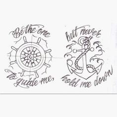 Anchor tattoo that I want.