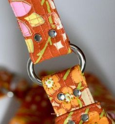 Straps! - Part Two......How to Make an Adjustable Bag Strap!                                                                                                                                                     More