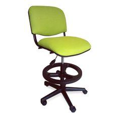 silla para oficina ads cajera modelo iso tapiz