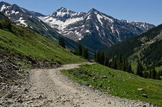 The road to Animas Forks...not for the faint of heart. Love it here.