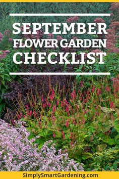 Is your flower garden ready for winter? Discover what you need to do this September to get it ready! Download a free yard