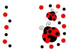 free printable ladybug stencils - Google Search