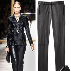 Anamaria Wilson test-drives the next trend in haute trousers.