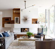 Contemporary Living Room by DISC Interiors. #InteriorDesign #DISCinteriors #SantaMonica #LAhomes
