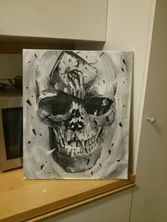 Painting last night