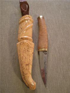 Ovanlig finsk kniv av Rauno Vainionpää på Tradera.com - Knivar från