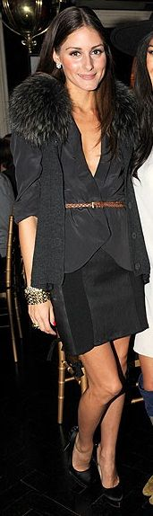 Vest – Diane Von Furstenberg, Shoes – Charlotte Olympia, Belt – Ann Taylor, Jacket – ASOS