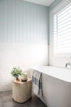 Home Decoration For Wedding From Brick Box to Timeless Beach House - House Nerd home tour. Decoration For Wedding From Brick Box to Timeless Beach House - House Nerd home tour. Beach House Bathroom, Beach Bathrooms, Beach House Decor, Home Decor, Farmhouse Bathrooms, Ensuite Bathrooms, Perth, House 2, House Floor