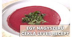 Talán sokak számára meglepő lehet ez a cékla recept, de ebből a gumóból akár leves is készíthető.Ahhoz, hogy finom levest készíts belőle, a következőkre lesz szükséged.Hozzávalók:- 2 db cékla- 2 db