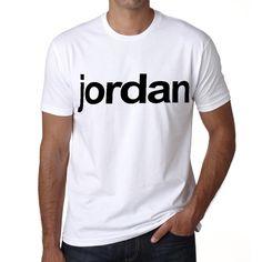 Jordan Tshirt Men's Short Sleeve Rounded Neck T-shirt