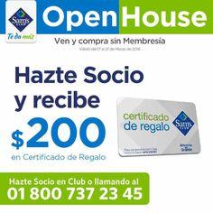 Sam's Club catálogo de ofertas Open House