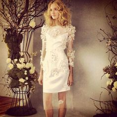 Bridal Market is a real thing (no shame), and it's time to take a top-secret midday break — glass of champagne in hand — to shamelessly scroll through these 20 oh-so-gorgeous wedding dresses. Evening Wedding Receptions, Reception Dresses, Bridal Gowns, Wedding Gowns, Elopement Dress, Cheap Wedding Venues, Gorgeous Wedding Dress, Wedding Dress Shopping, Elizabeth Fillmore