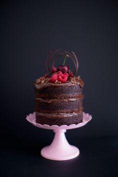 Mini Naked Cake de Nutella | Vídeos e Receitas de Sobremesas
